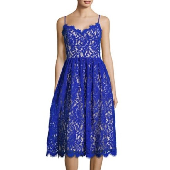 143529b9f23 Eliza J Dresses   Skirts - Eliza J Gathered Lace Midi Dress